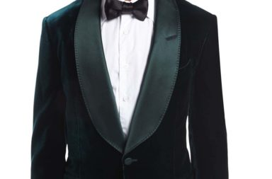 Tom Ford Shelton Base Liquid Velvet Tuxedo Jacket