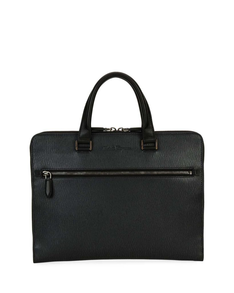 Revival Slim Leather Briefcase