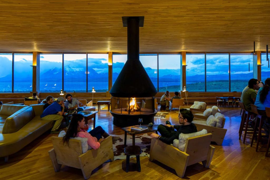 Tierra Patagonia-Tierra Patagonia fireplace-James Florio