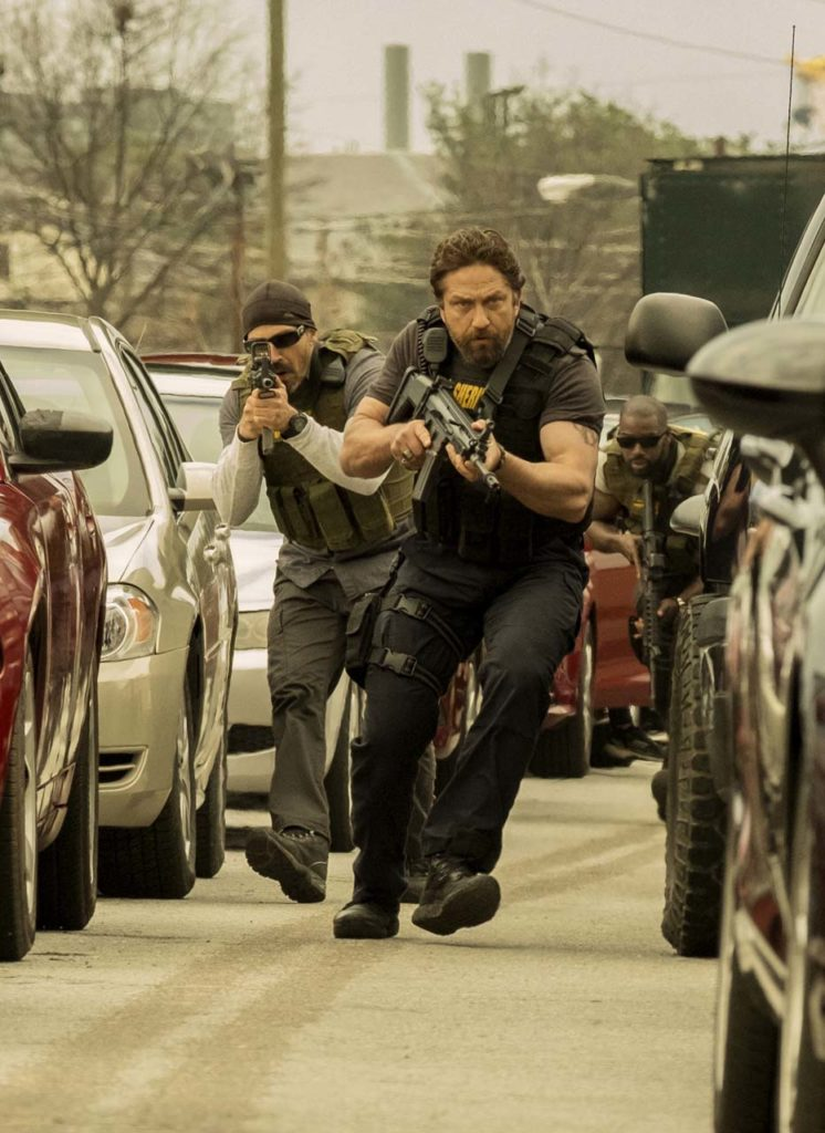 Maurice Compte and Gerard Butler star in Den Of Thieves