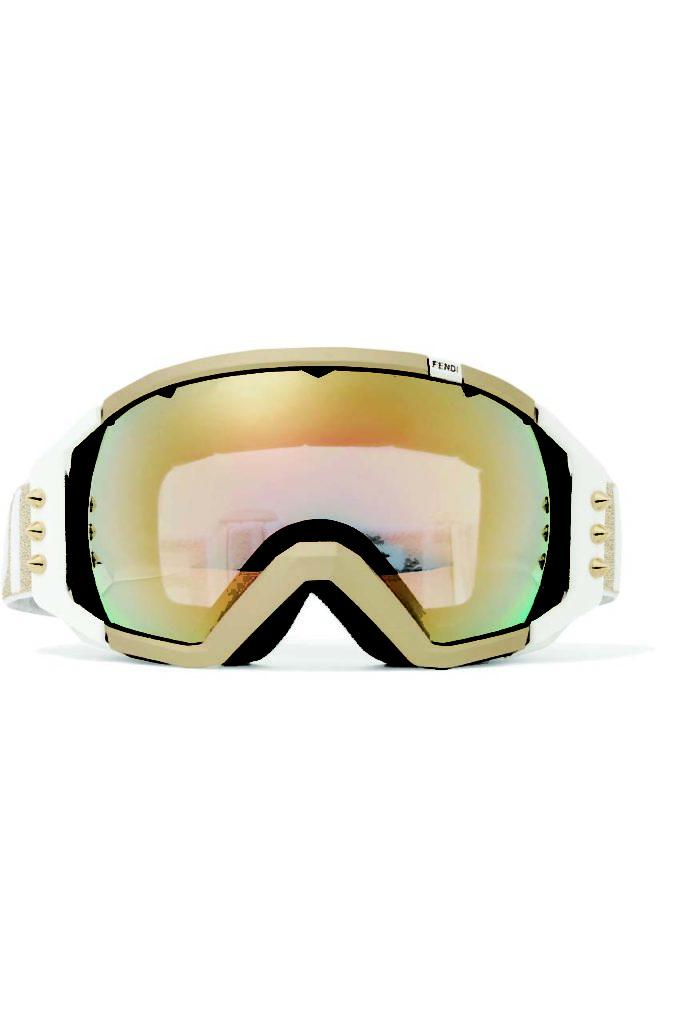 Fendi Roma Studded Mirrored Ski Goggles_1