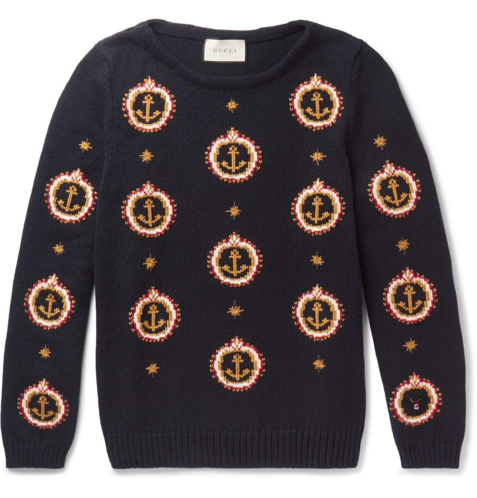 Gucci Anchor Cotton Sweater_1
