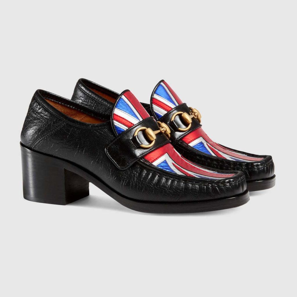 Gucci Union Jack Horsebit Loafer