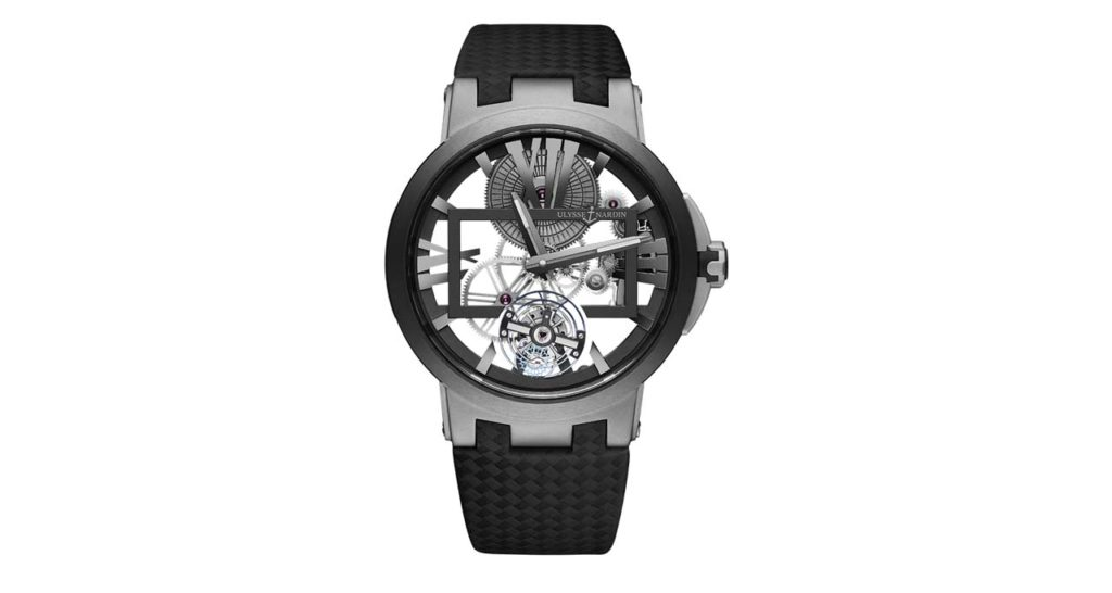 Jaguar XJ-Ulysse Nardin Executive Skeleton Tourbillon Ref 1713-139