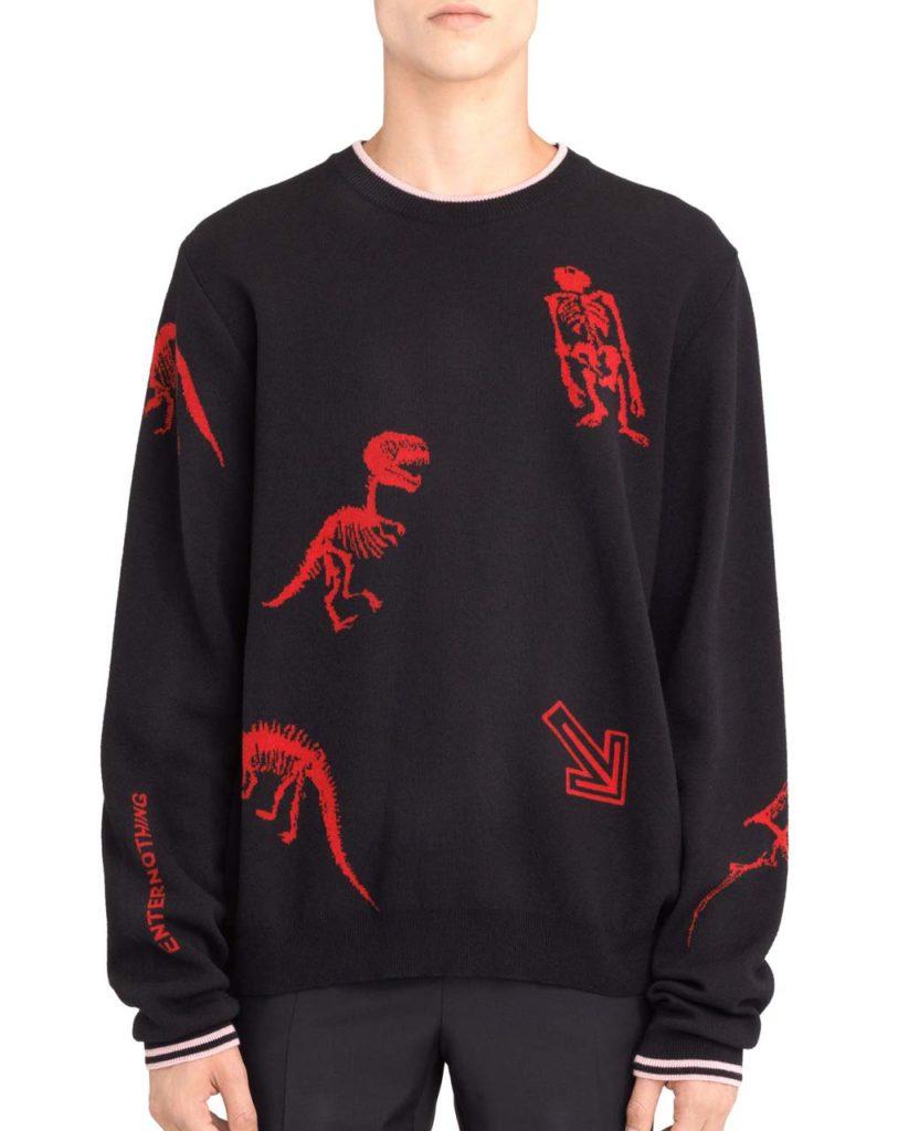 Lanvin _Dino_ Jacquard Sweater