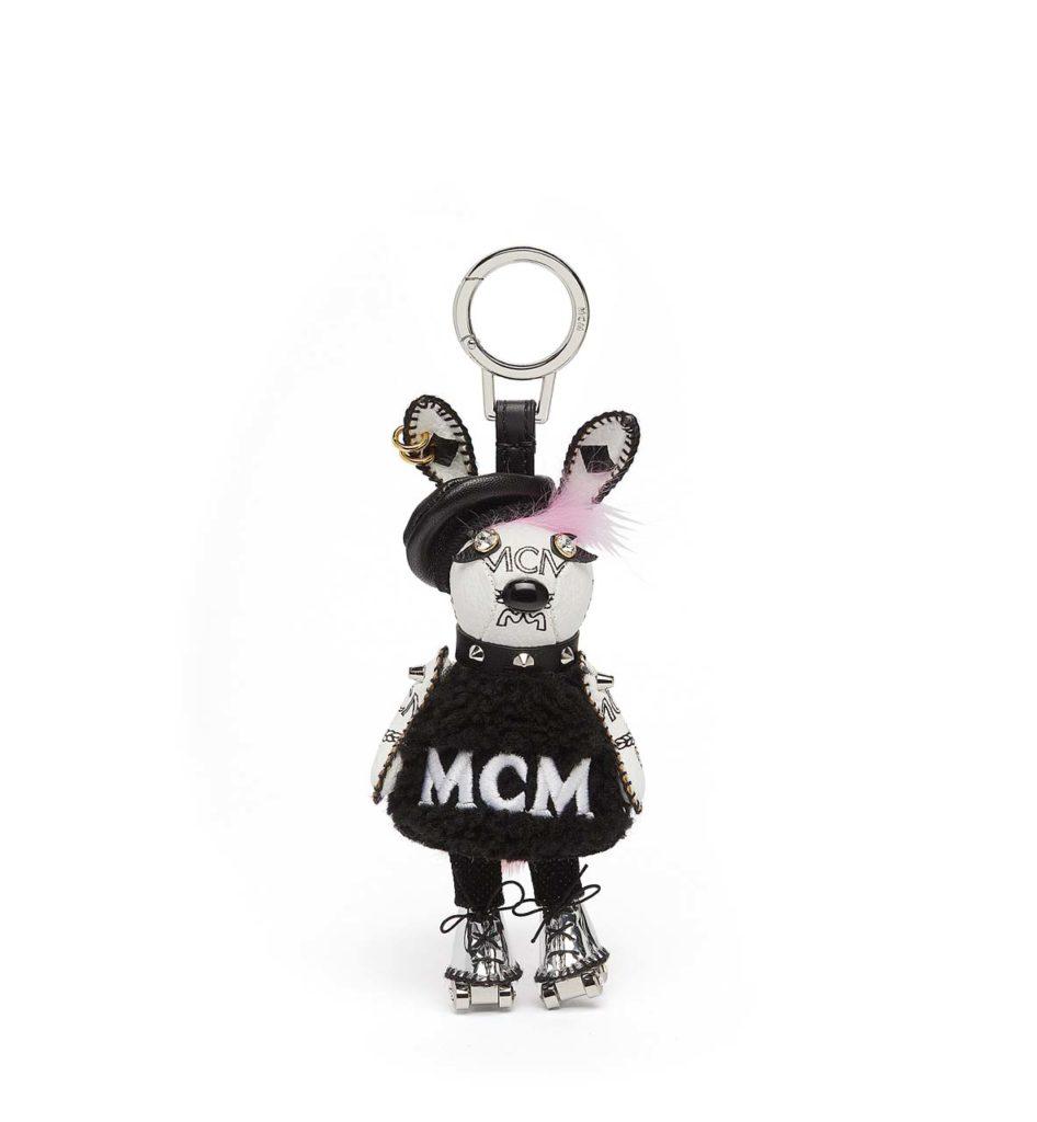 MCM 3D Punk Rabbit Charm