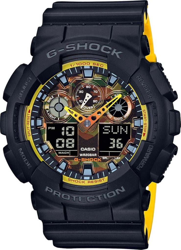Mercedes-Benz G 500 - G-SHOCK GA100BY-1A