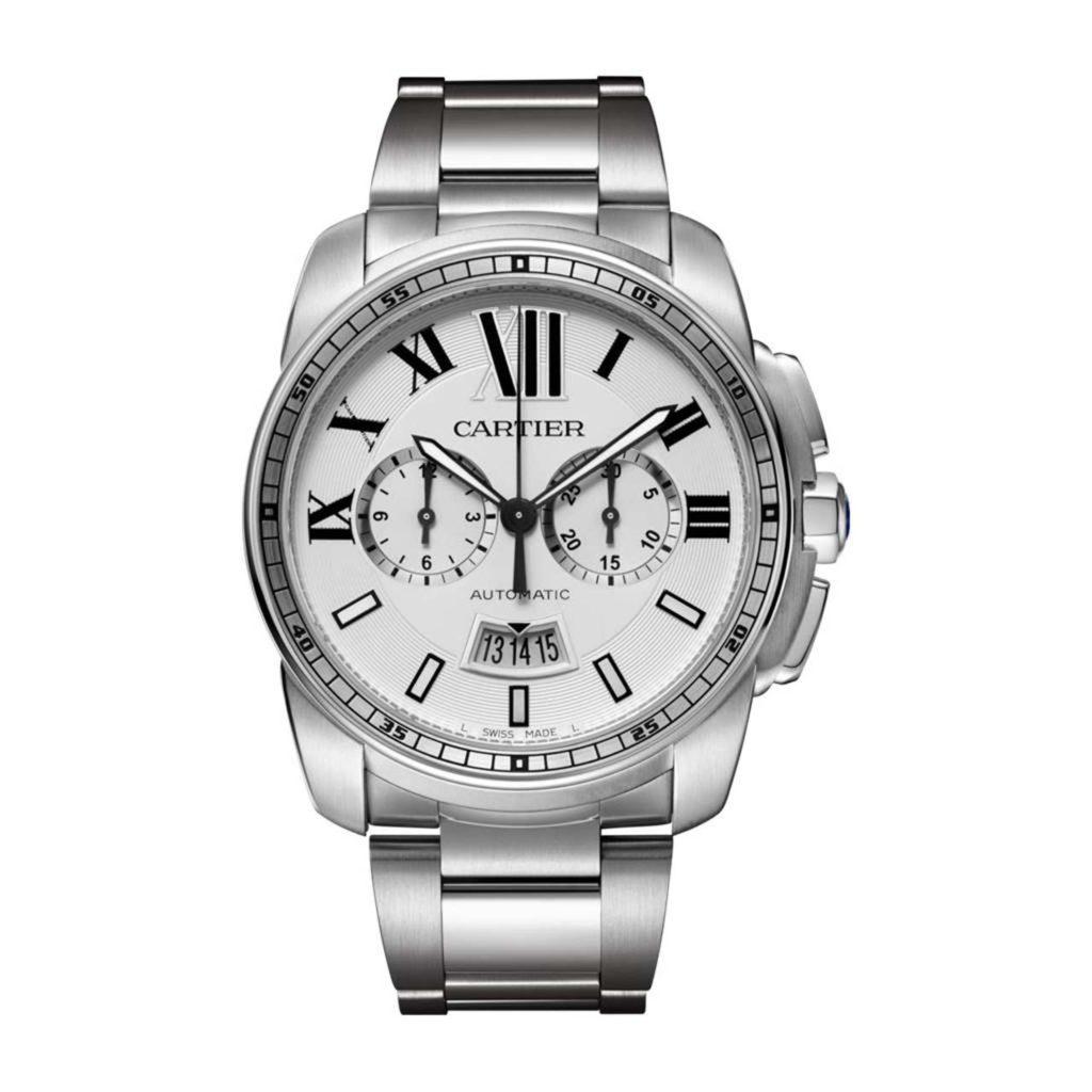 Range Rover Velar-Caliber De Cartier Chronograph Watch Ref W7100045 _1