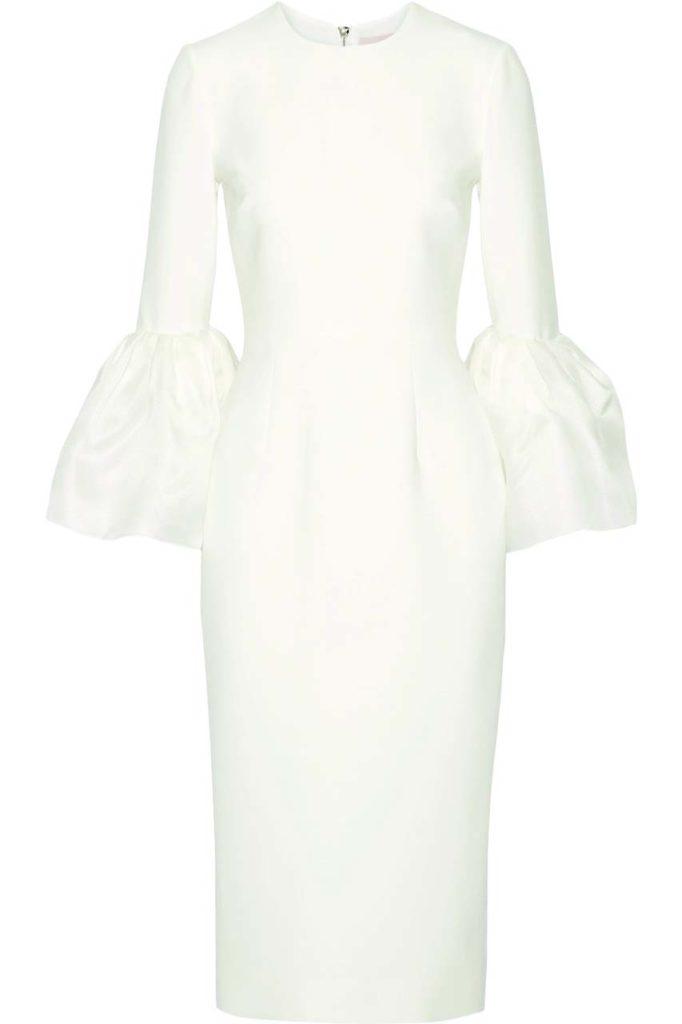 Roksanda Margot Crepe de Chine Dress