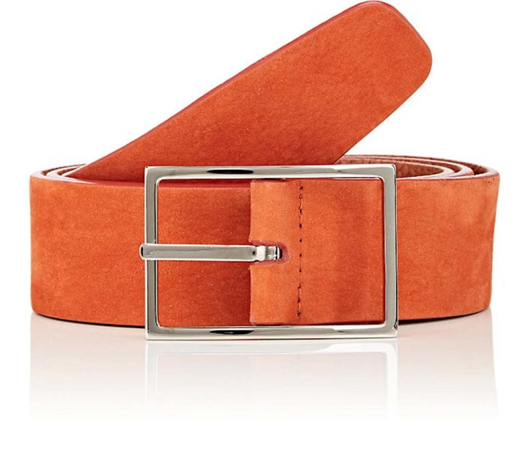 Simonnot Godard Suede Belt 1