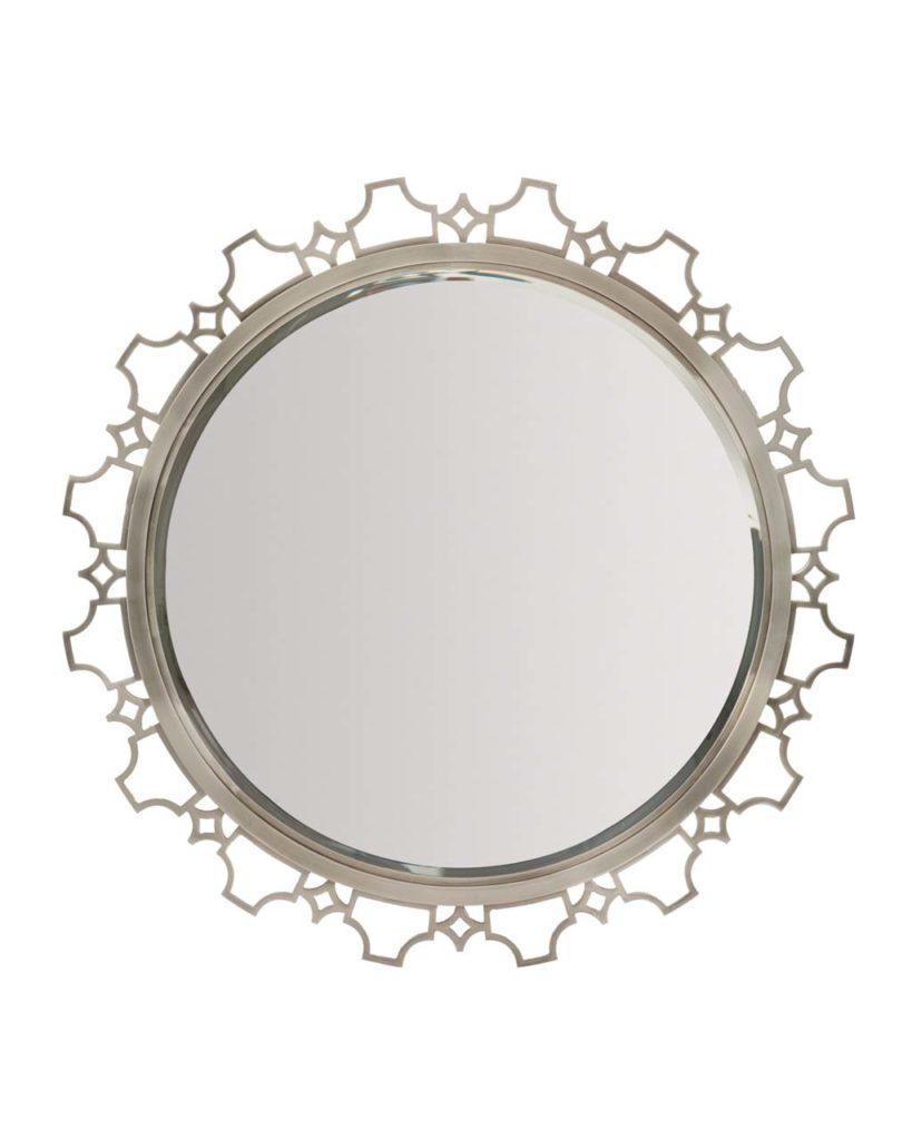 Bernhardt Damonica Metal Edge Round Mirror