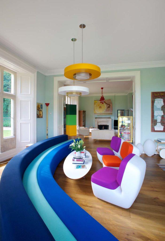 Cora Sheibani at Hampnett House, Cotswolds UK