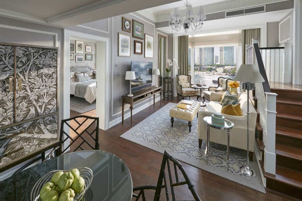 WHERE TO STAY - Mandarin Oriental suite-garden-living-room