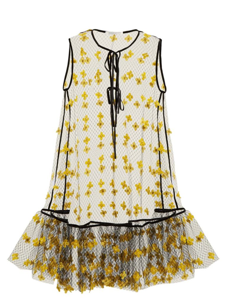 Cecilie Bahnsen Akine Sheer Dress