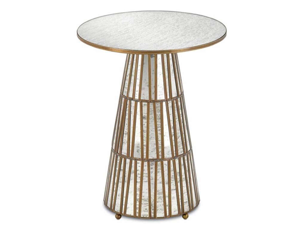 Currey and Company Cicely Accent Table