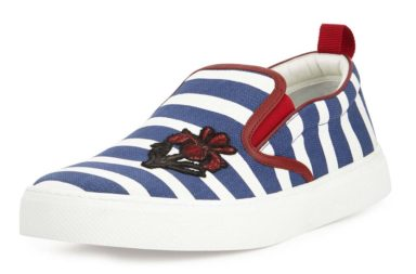 Gucci Dublin Striped Slip-On Sneaker
