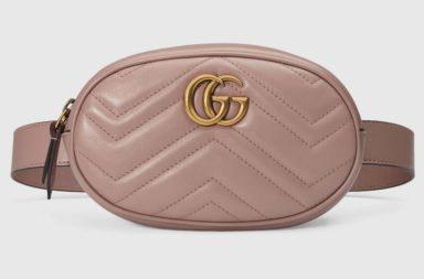 Gucci GG Marmont Matelassé Leather Belt Bag_1