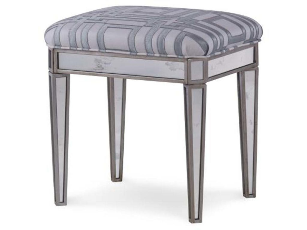 Highland House Mirrored Stool