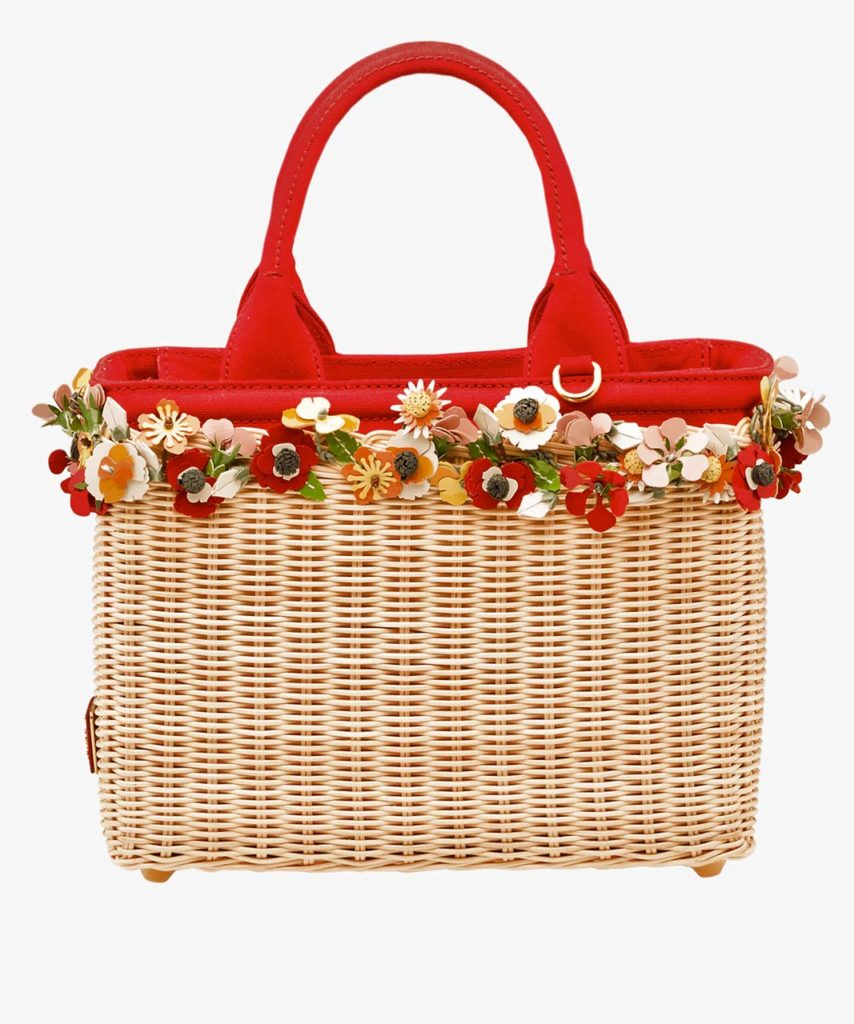 Prada Wicker Handbag