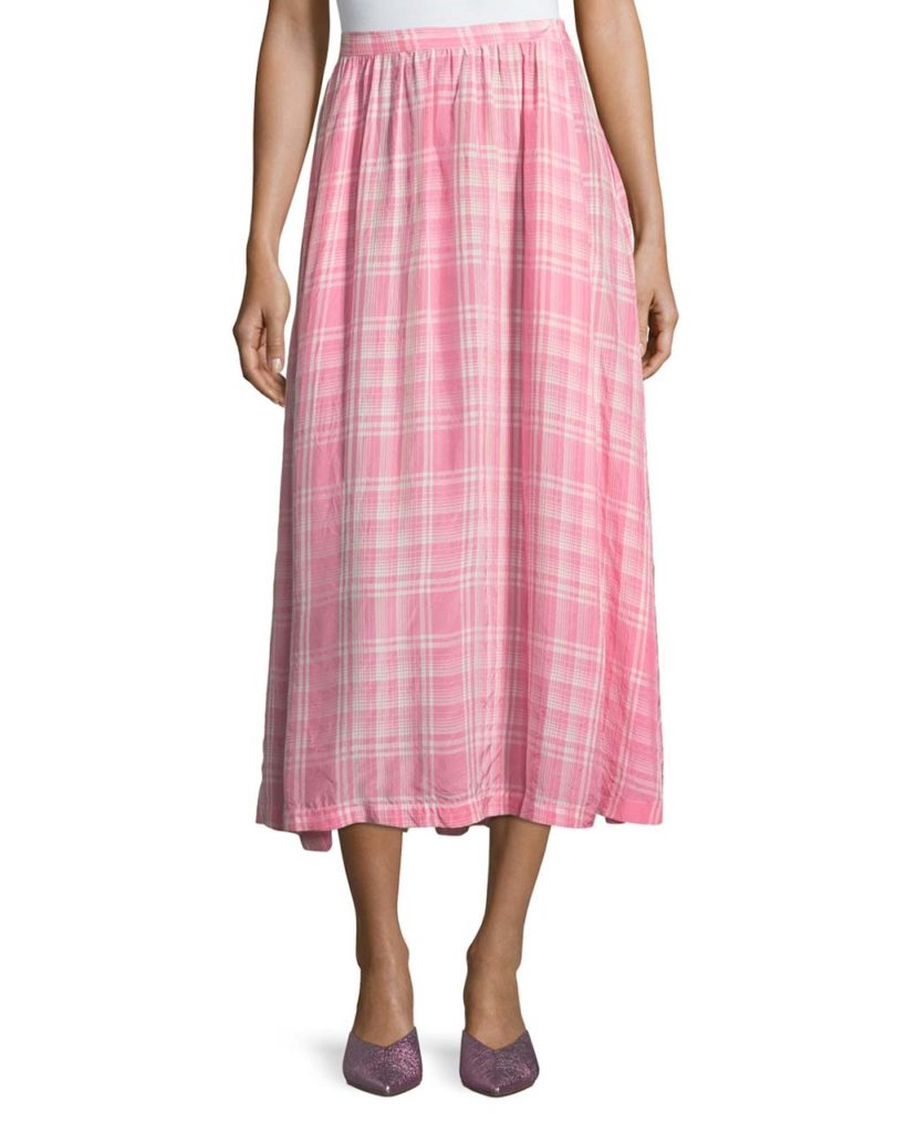 Rosie Assoulin Gathered Waist Skirt