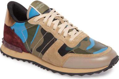 Valentino Garavani Camo Rockrunner Sneaker_1