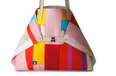 Akris Ai Medium Painted Colorblock Shoulder Bag_1