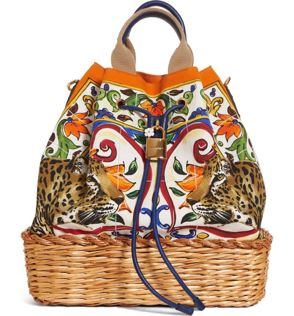 Dolce & Gabbana Maiolica Top Handle Tote_1