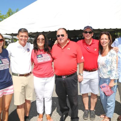 Eagle Oaks Honor Day - 2nd from left Lieutenant General Michael Flynn, Committee Chair Kim Pillar, Eagle Oaks Chairman Domenic Gatto, Committee Chair Joseph Cary + Guests