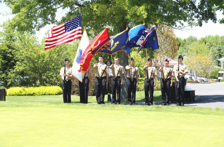 Eagle Oaks Honor Day - Color Guard