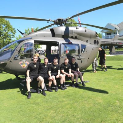 Eagle Oaks Honor Day - West Point Parachute Team3