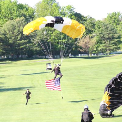 Eagle Oaks Honor Day - West Point Parachute Team4