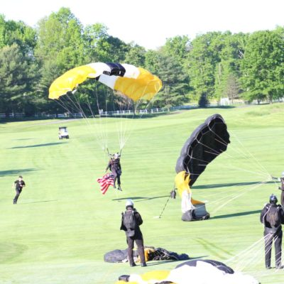 Eagle Oaks Honor Day - West Point Parachute Team5