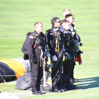 Eagle Oaks Honor Day - West Point Parachute Team6