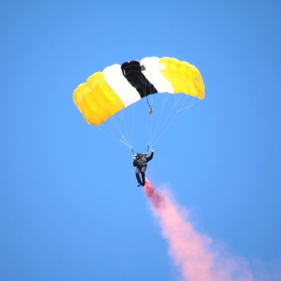Eagle Oaks Honor Day - West Point Parachute Team7