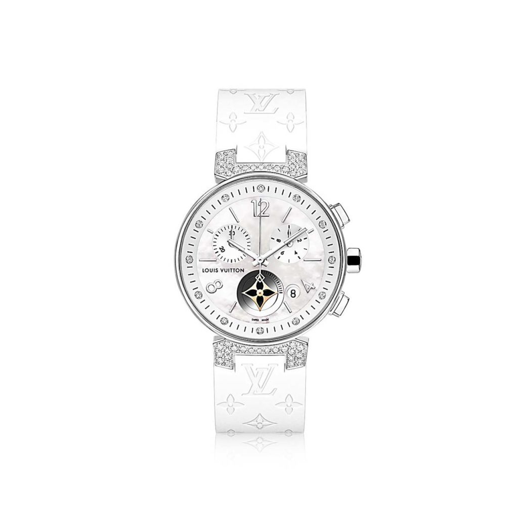 Louis Vuitton Tambour Moon Star $8,700