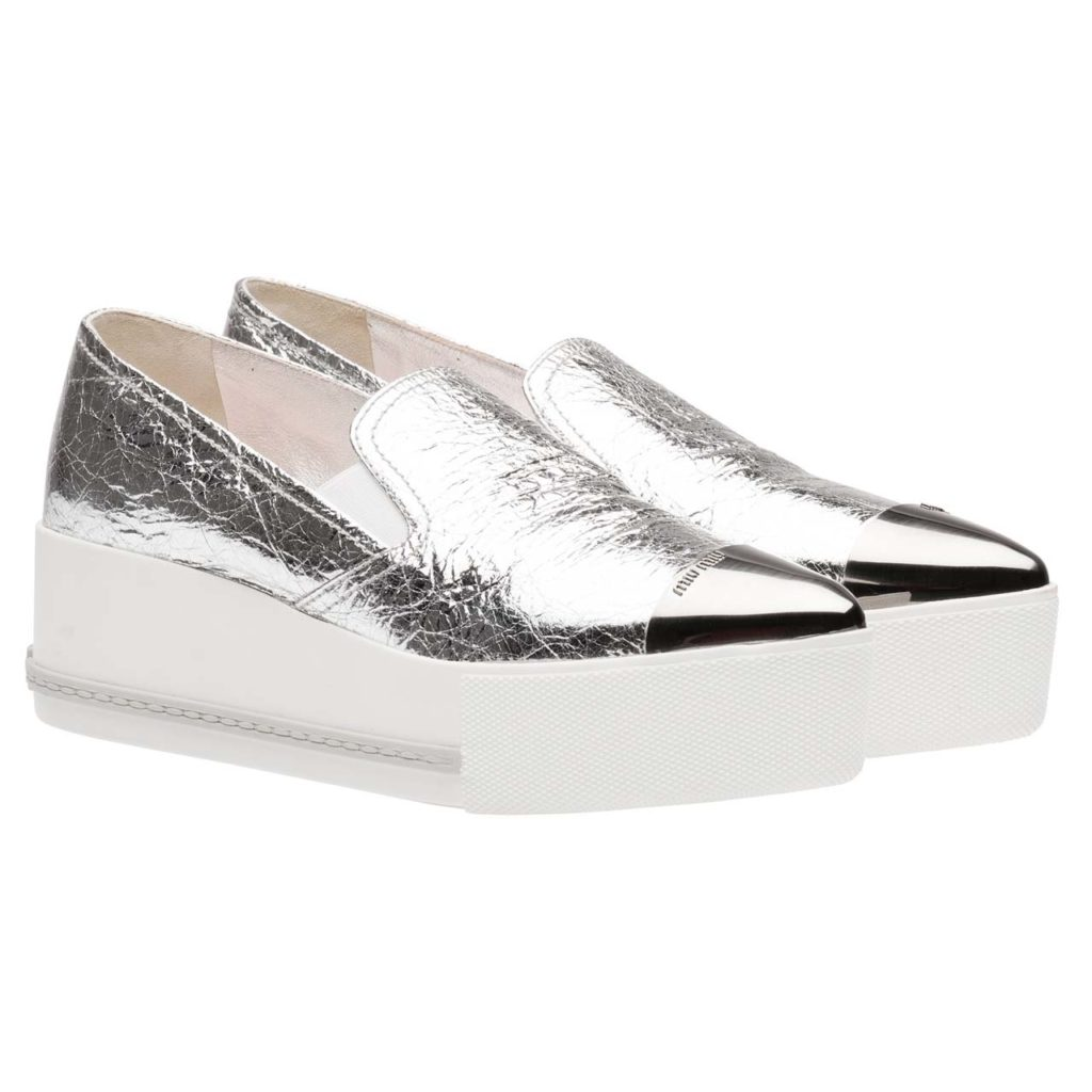 _Miu Miu Naplak Leather Sneaker