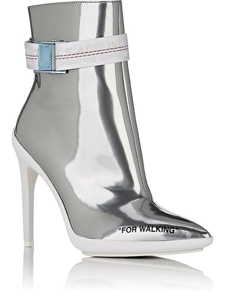 Off-White Leather Heels $1,205