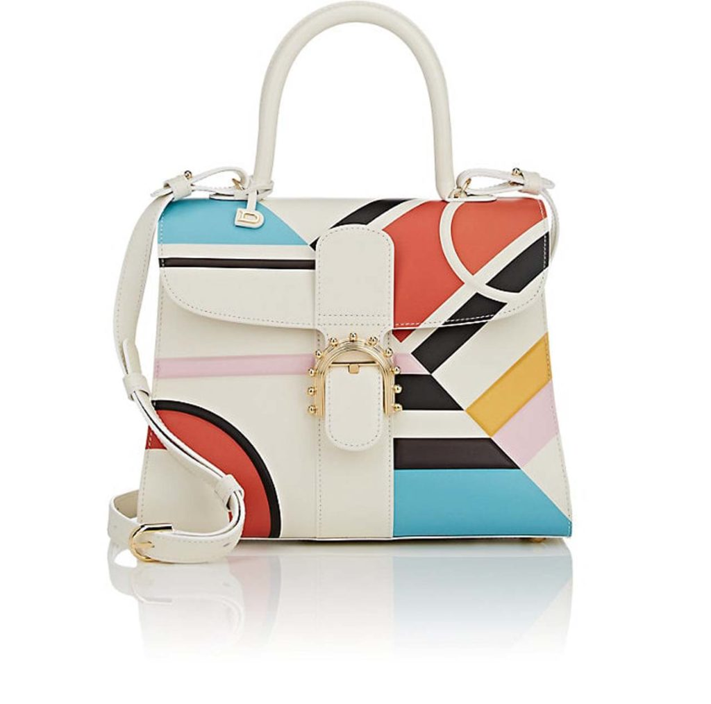 DELVAUX Brillant MM Leather Satchel $7,750