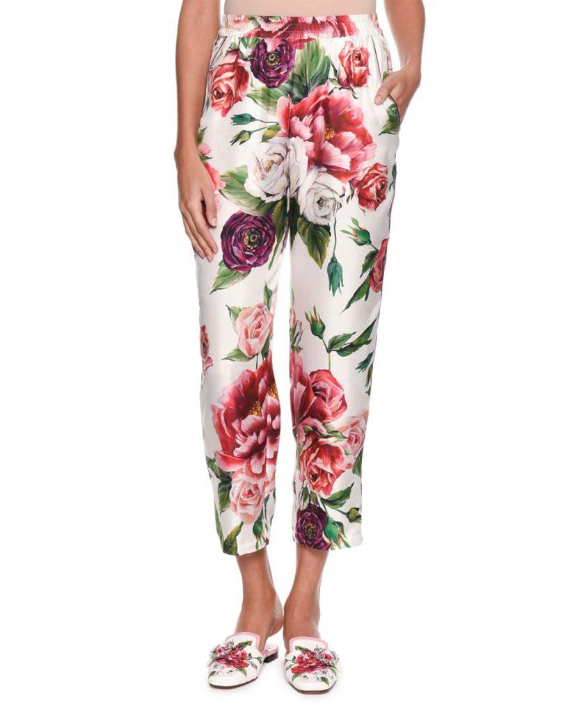 Dolce Gabanna Silk Pajamas