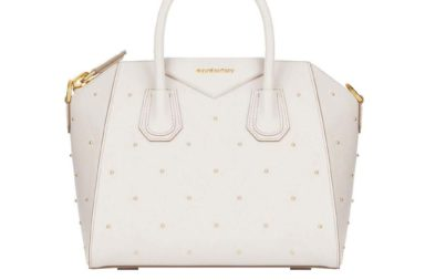 Givenchy Antigona Small Studded Satchel Bag
