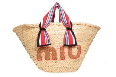 Miu Miu Shopper Tote Bag $970