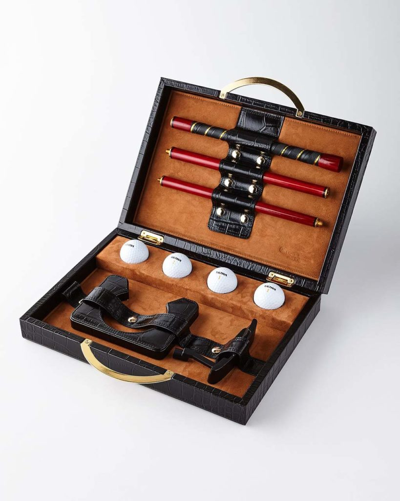 Renzo Romagnoli Travel Golf Set
