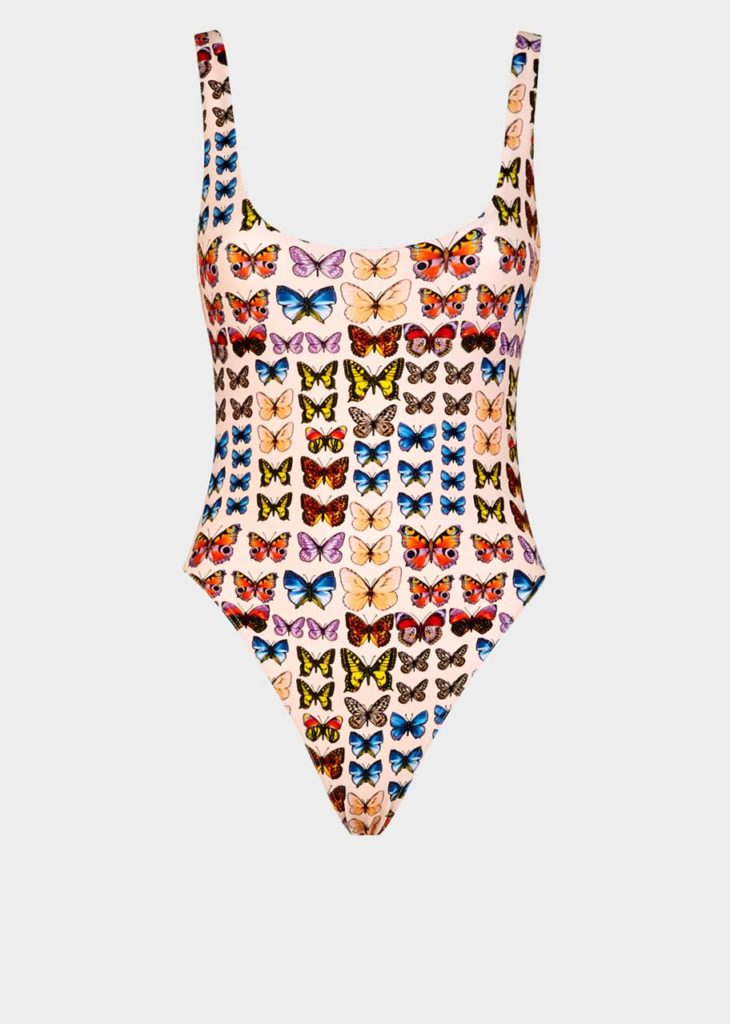 Versace Butterfly Swimsuit $600