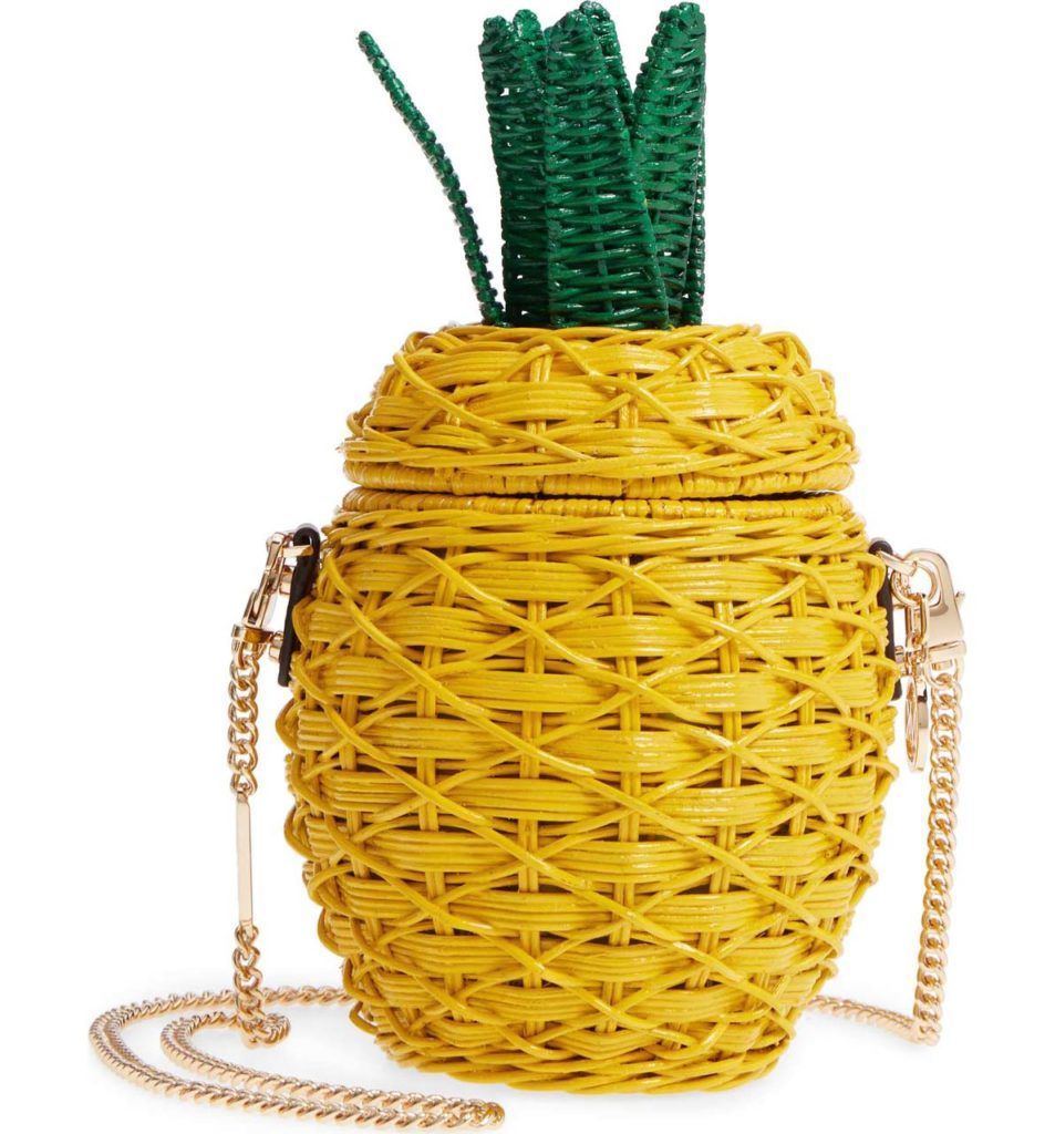 mk pineapple bag