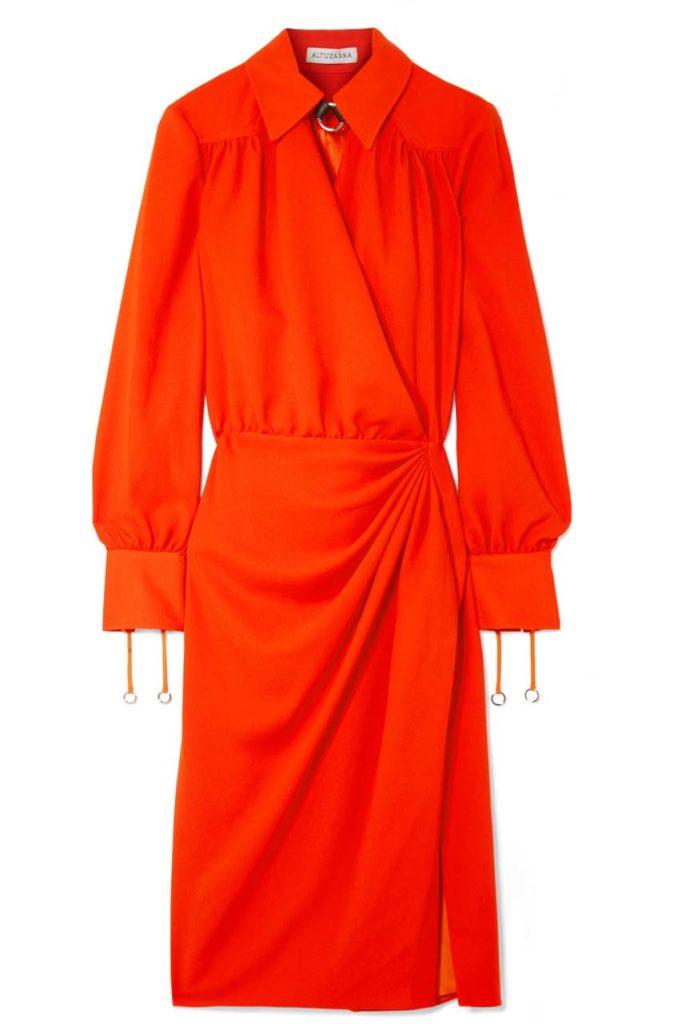 Altuzarra Draped Dress $1,495