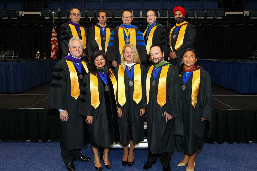 Board of Trustees at Graduation