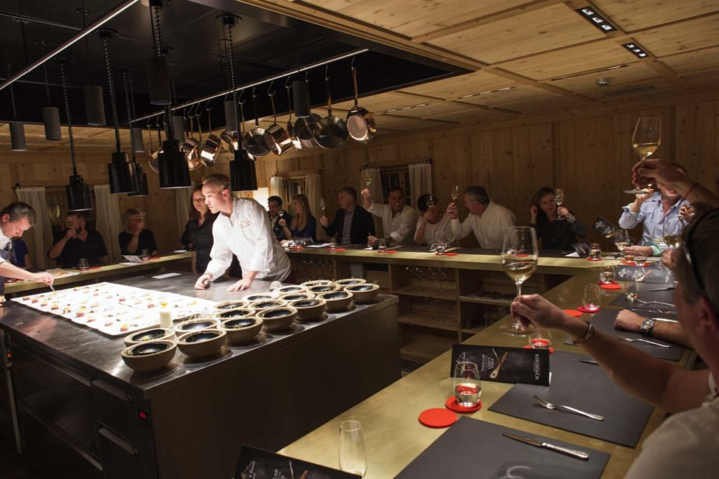 DINE AND DRINK-Chef's Table at Rote Wand Schualhus