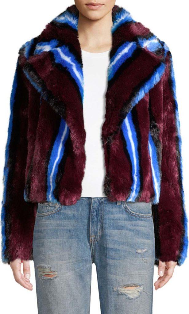 DVF Fur Coat $548