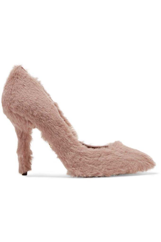 Dolce & Gabbana Faux Fur Pumps