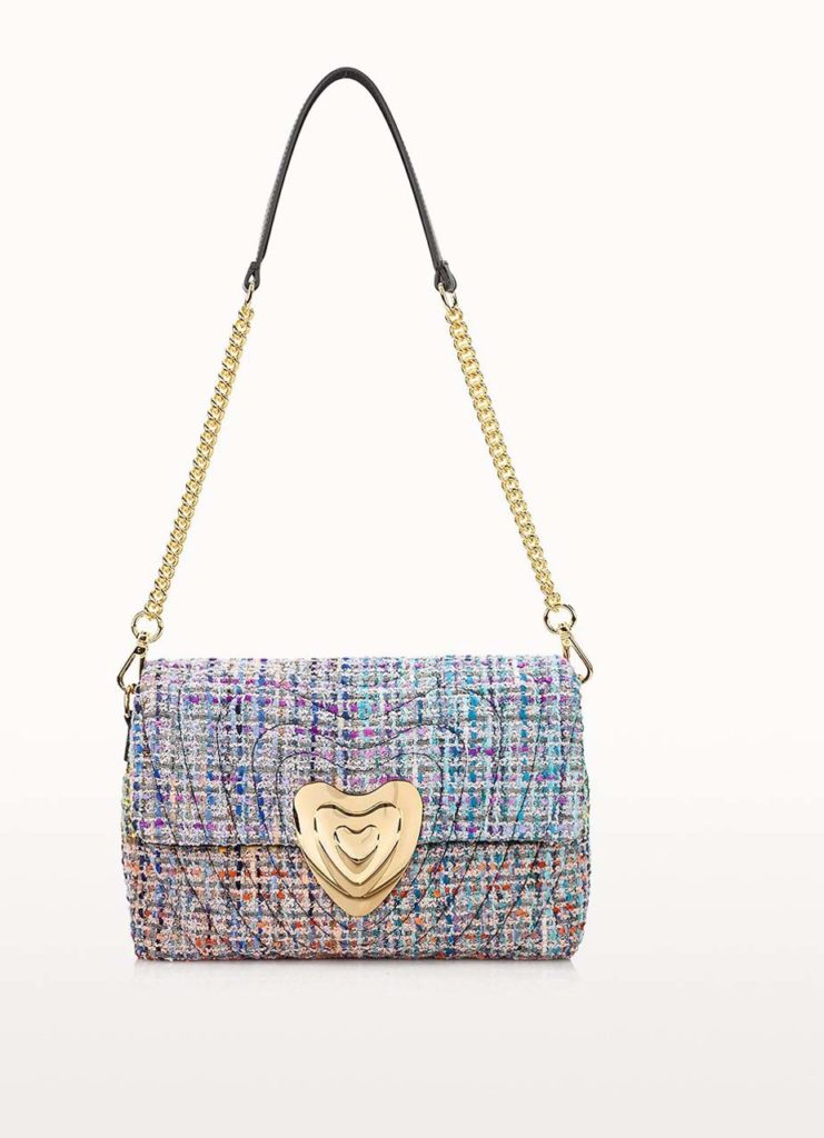 Escada Medium Bouclé Heart Bag $1,250